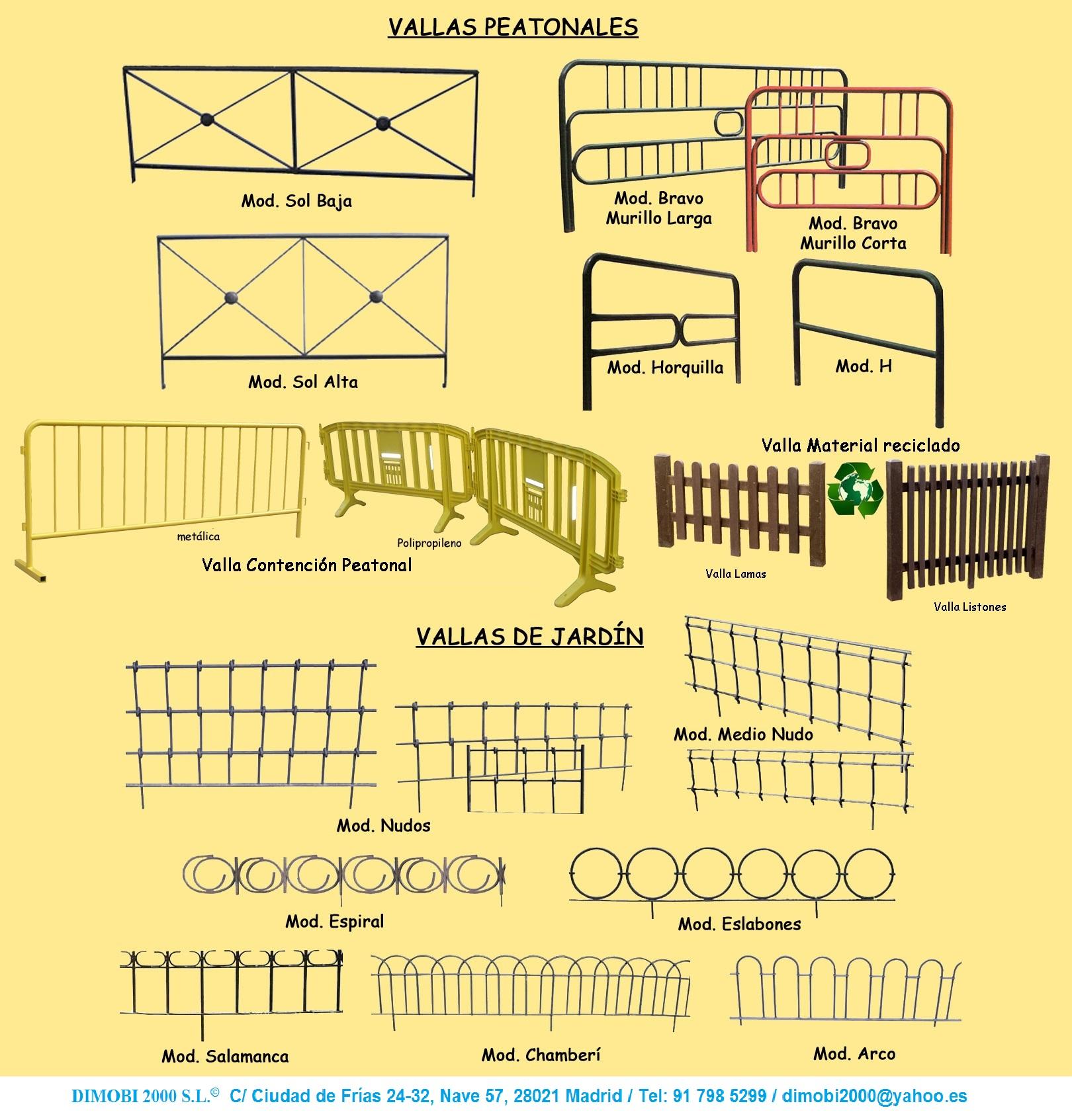 Dimobi 2000 mobiliario urbano se alizacion y parques for Vallas infantiles plastico