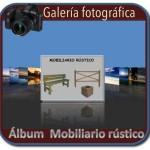 Album fotografico de mobiliario rustico