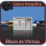 Album fotografico de vitrinas