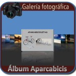 Album fotografico de aparcabicis