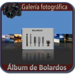 Album fotografico de bolardos