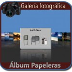 Album fotografico de papeleras