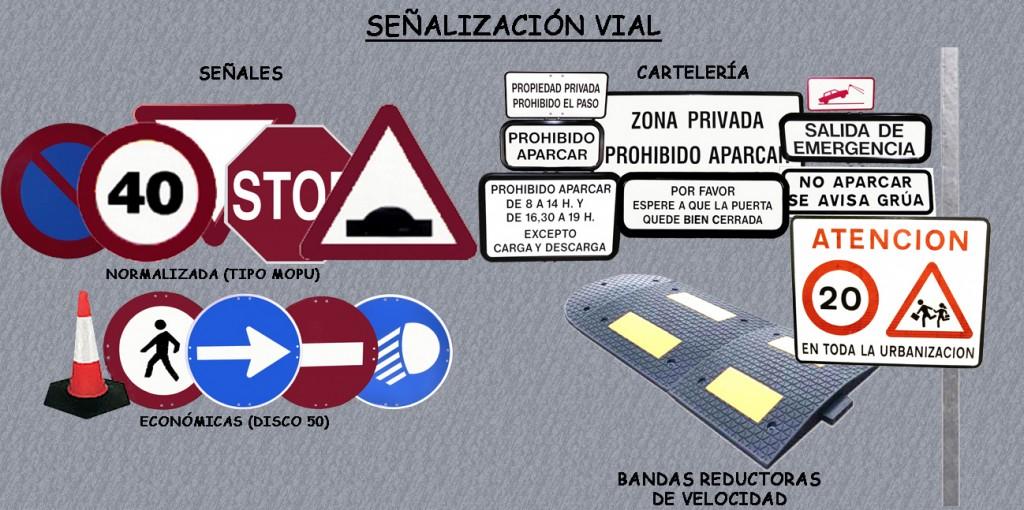 señalizacion vial y carteleria