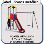 modelo Cronos metálico monoplaza
