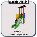 Miniparque modelo Albión