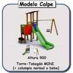 Miniparque modelo Calpe